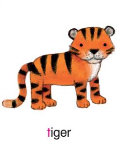ELLA LG LB Tiger pic card