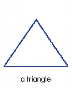 LB LG triangle pic card